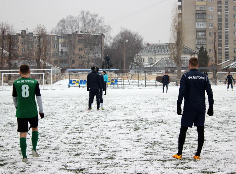 «Вікторія» впевнено обігрує глухівську команду «Велетень» з рахунком 4-1