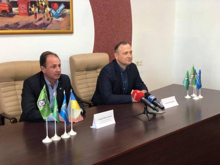 ФК «Вікторія» планує виступати на стадіоні «Ювілейному» в Сумах