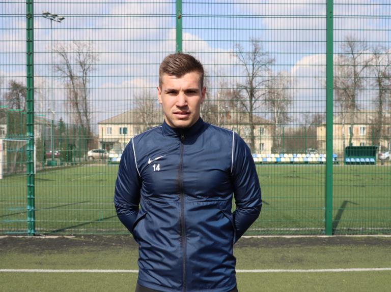 Вітаємо Максима Ковальова в нашій команді